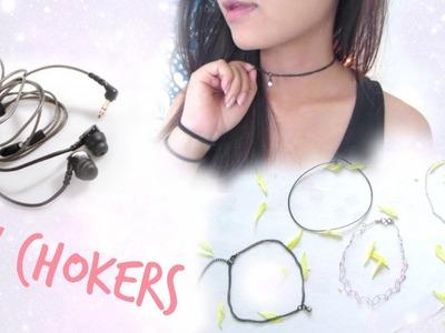 ♡ DIY: Broken Headphones ➙Trending Chokers ♡