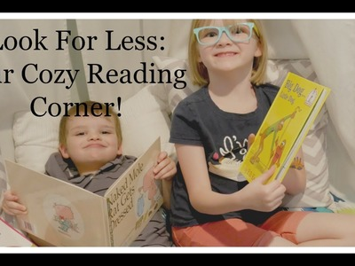 DIY Cozy Reading Corner: Look For Less Summer 2016 Collab