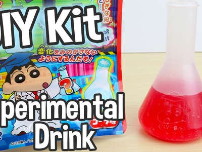 DIY Crayon Shin-chan Experimental Drink Japanese Candy Kit