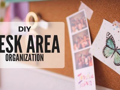 DIY: Desk Area.Wall Organization Ideas - Collab with SeaLemon | Cutify DIY #4