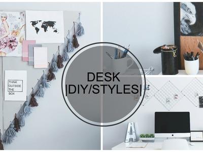 DIY Desk Decor and Styles