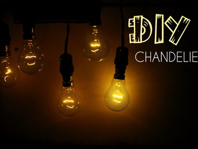 DIY Dim Light Chandelier