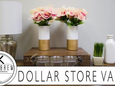 DIY Dollar Store Vases!