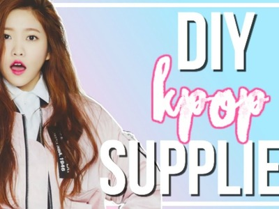 DIY K-Pop Back To School Supplies | BTS, BIGBANG, & More!