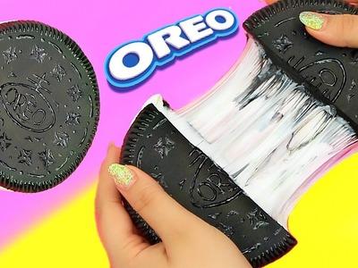 DIY LIQUID OREO?! Oreo Slime!