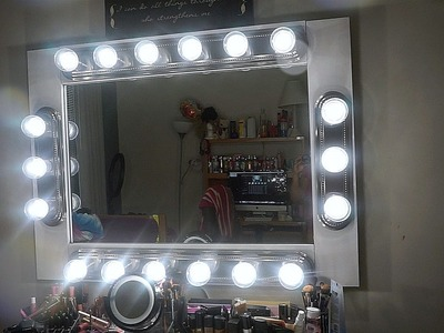 DIY: MAKEUP VANITY MIRROR WITH LIGHTS | UNDER $200 !