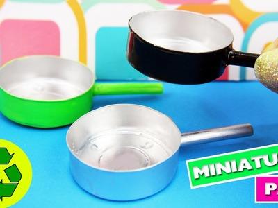 DIY | MINIATURE PAN - Easy doll Crafts - simplekidscrafts