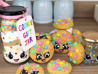 DIY Rainbow Shopkins Kooky Cookie Gift Jar | RedTedArt Collab | CarlyToffle