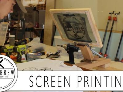 DIY Screen Printing Press | On A Budget