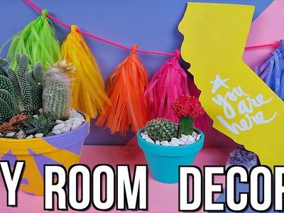DIY Summer Room Decor! Summer 2016