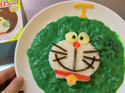Doraemon Slime Curry DIY Cooking