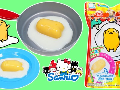 GUDETAMA Egg Pudding Dessert Fun & Easy DIY Japanese Candy Making Kit!