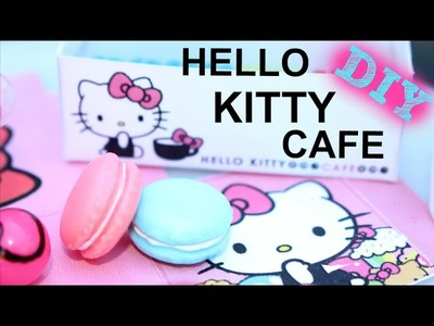 Hello Kitty Cafe | DIY American Girl Doll Craft