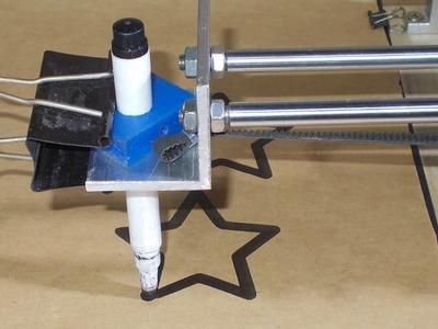 Homemade Axi Draw Bot 4xiDraw Robotic Pen AxiDraw DIY Robot 3D Printer Plotter Laser Drawing Test 1