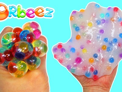How to Make ORBEEZ Stress Ball & Slime | Fun & Easy DIY Orbeez Projects!