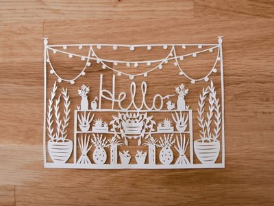Introduction to Paper Cutting with Grace Hart - Video 1 of Paper Cutting Series
