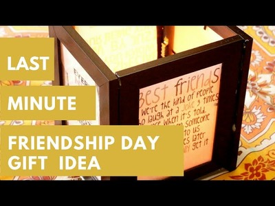 Last Minute Gift Idea For Friend |Friendship Day Gift Idea DIY