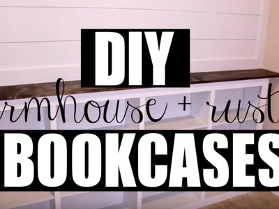 My Office | DIY Target Bookcase Hack | Farmhouse + Rustic Chic