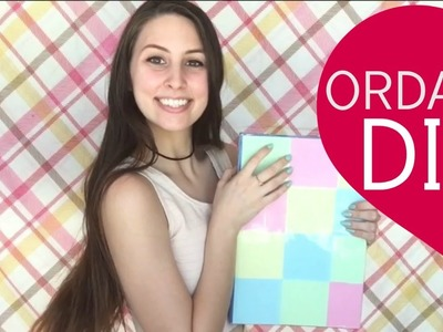 SUPER easy ways to transform your School Supplies! | ORDANI DIY