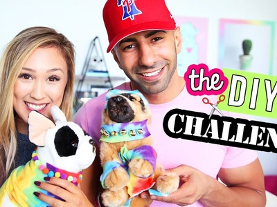 THE DIY CHALLENGE 4: LAURDIY vs. FOUSEYTUBE
