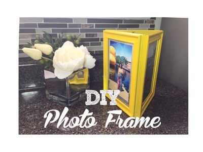 Triangular Photo Frame   Dollar Tree DIY