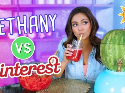 Trying Summer DIY's | Bethany VS. Pinterest