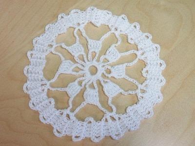 Crochet motivo circular en encaje de bruja - con Ruby Stedman