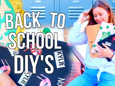 DIY BACK TO SCHOOL SUPPLIES I maikekrombach