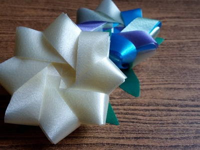 DIY How to make an easy ribbon Jasmine