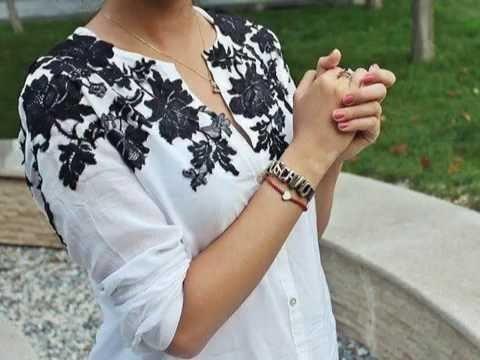 Как украсить блузку кружевом своими руками