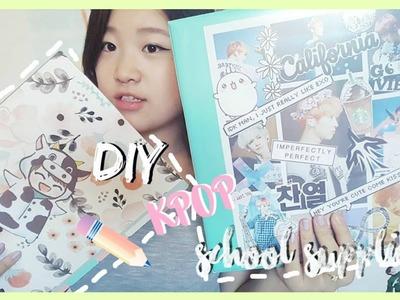 DIY Kpop Back To School Supplies ♡ Customize Your Binder