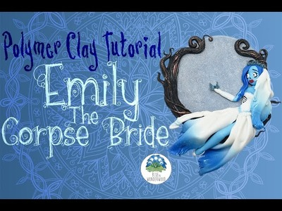 Emily The Corpse Bride - Tim Burton Inspired - Polymer Clay Tutorial