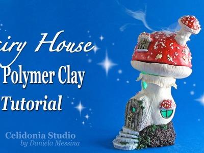 Fairy House Polymer Clay Tutorial