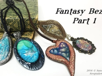 Fantasy Bezels Part 1-Polymer Clay Tutorial