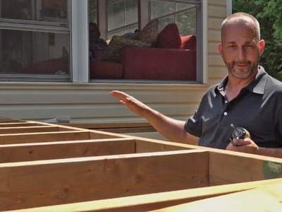 How to build a deck Part 2 Joists and Assembly