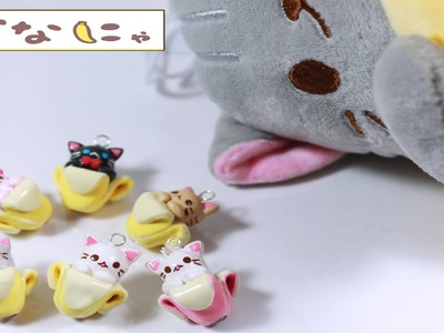 How to Make a Bananya Charm - Polymer Clay Tutorial