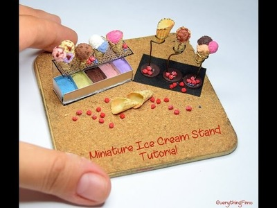 Miniature Ice Cream Holder Tutorial-Polymer Clay