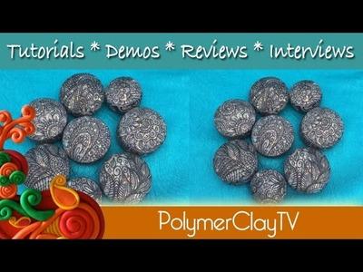 NEW Polymer Clay Magic Opal Beads Tutorial
