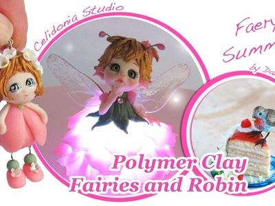 Polymer Clay Faery Summer