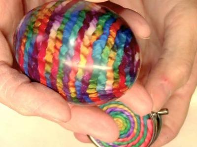 Polymer Clay Rainbow Twist