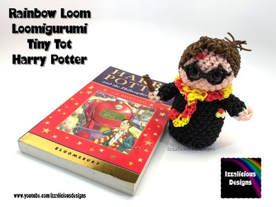Rainbow Loom Loomigurumi Tiny Tot Harry Potter made w. Rainbow Loom Bands