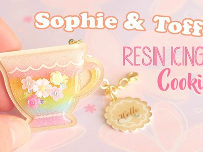 Rainbow Resin Icing Cookies│Sophie & Toffee Subscription Box July 2016