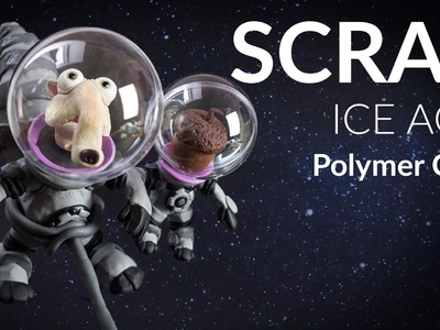 Scrat (Ice Age 5: Collision Course) – Polymer Clay Tutorial