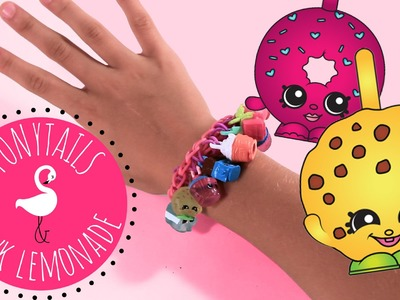 Shopkins Rainbow Loom Charm Bracelet Tutorial