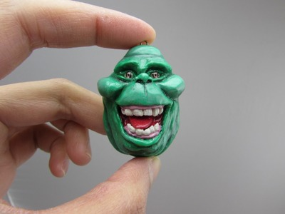 Slimer GHOSTBUSTERS Polymer Clay Tutorial