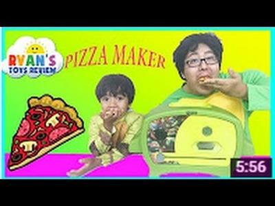 Teenage Mutant Ninja Turtles Pizza Oven Diy Toys For Kids Videos Family Fun Park