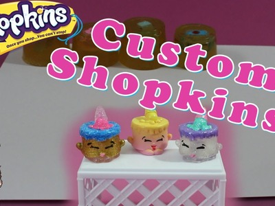 Custom Season 5 Shopkins! - Resin Painted Shopkins Molds DIY Crafts Project | Shopking