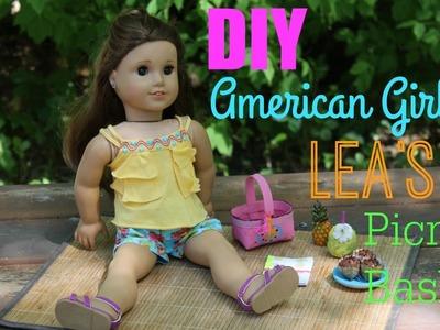 DIY American Girl Lea Clark's Beach Picnic Set!