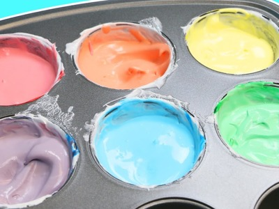 DIY Edible Finger Paints   Easy To Make Frozen Paint For Toddlers!