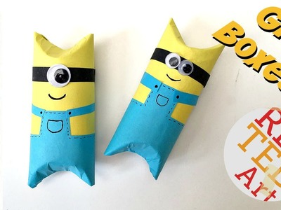 Easy Minion TP Roll Gift Box DIY (Perfect for Father's Day!)